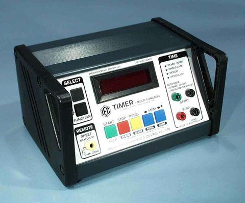 Timer LED 6 dig 999.999sx0.1mS 12V AC/DC