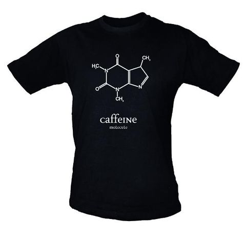 Caffeine T-shirt Medium