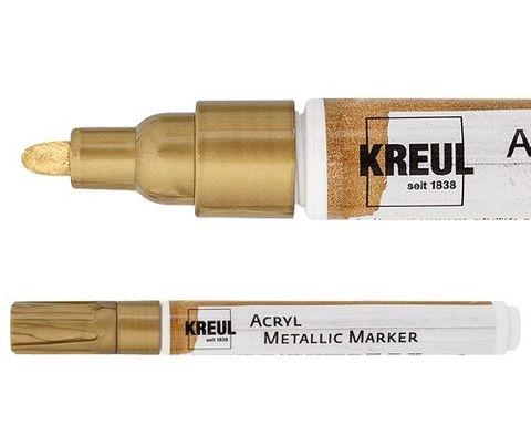 Kreul acryl metallic marker med gold