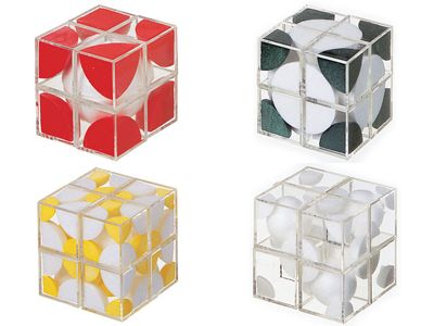 Model crystal 'Cryscube' lattice models
