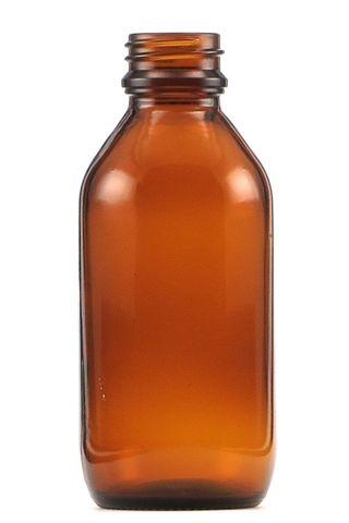Bottle 100ml amber w/o cap