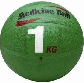 Medicine ball rubber Navy 1kg