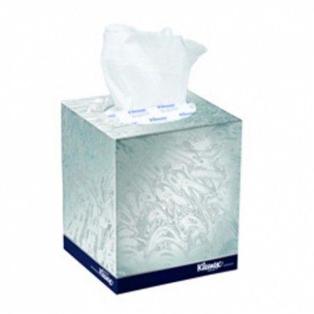 Tissues facial executive 2 ply 90s Kleen