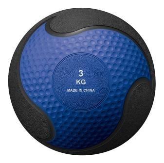 Medicine ball rubber Orange 3kg