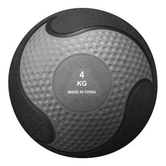 Medicine ball rubber Yellow 4kg