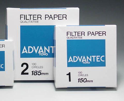 Filter paper Advantec No.2 medium 185mm