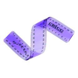 Ruler Celco superflex 30cm assort/colour