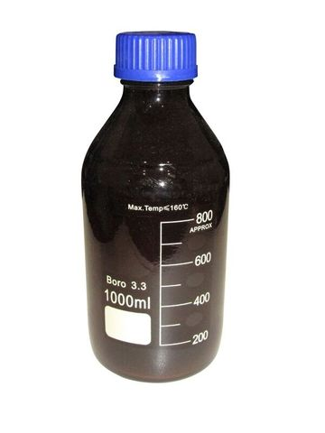 Bottle Lab amber glass 1000ml