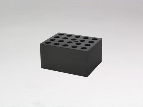 Heater block with 20x10.5mm holes