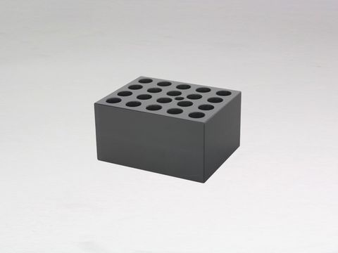 Heater block with 20x12mm holes
