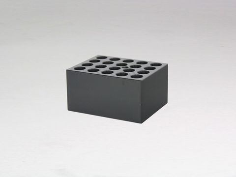 Heater block with 20x13mm holes