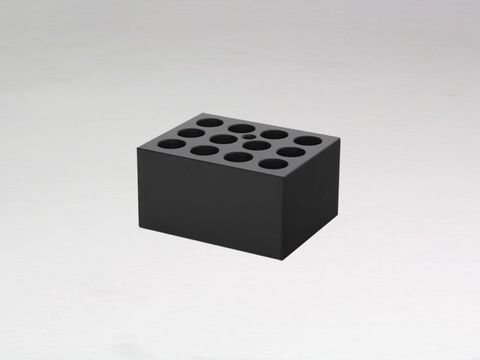 Heater block with 12x16mm holes