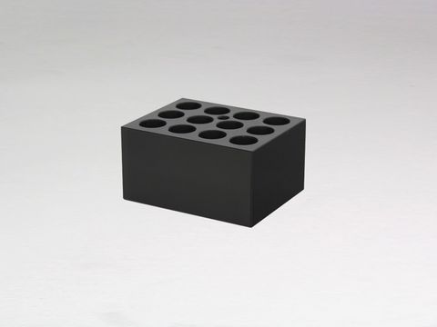 Heater block with 12x17mm holes