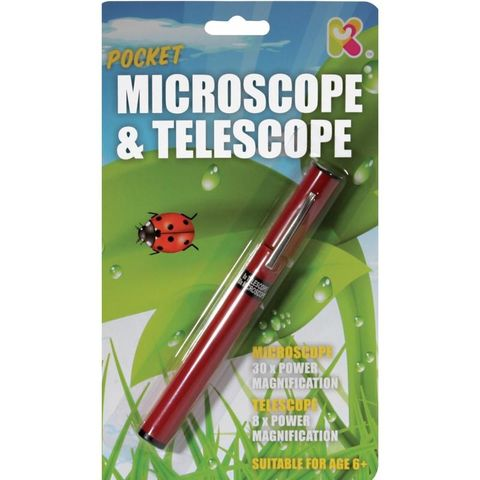 Pocket Microscope/Telescope - Outdoors