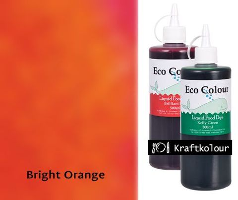 Eco Colour 500mL Bright Orange