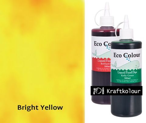 Eco Colour 500mL Bright Yellow