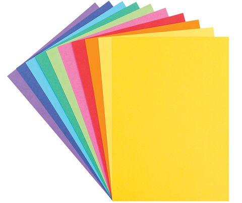 Coloured Cardboard A4 220gsm 100
