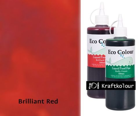 Eco Colour 500mL Brilliant Red