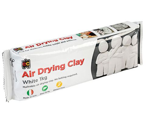 EC Air Drying Clay 1kg White