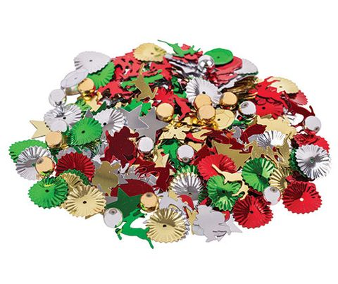 Sequins 25g Multi Christmas