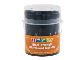 Teachables Triangular Whiteboard Markers