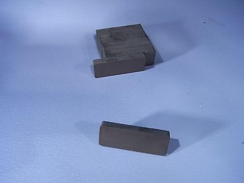 Magnets Ferrite 50x19x6mm