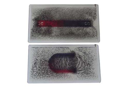 Iron filings in oil in plastic 190x100mm