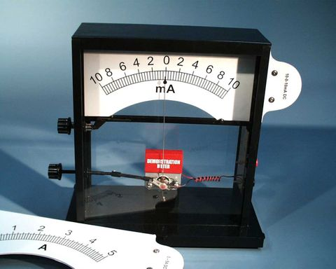 Demonstration meter only (no scale)