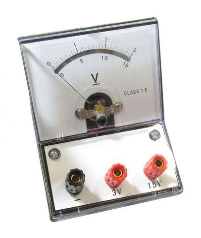 Meter student 2R/V 0-2/0-20V DC