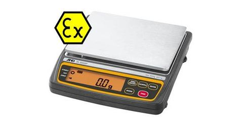 Balance 12kg x 1g intrinsically safe