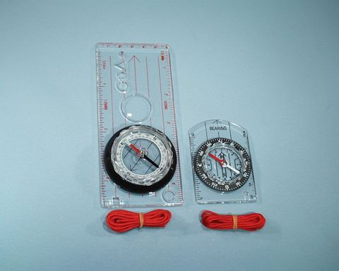 Compass magnetic map orienteering small