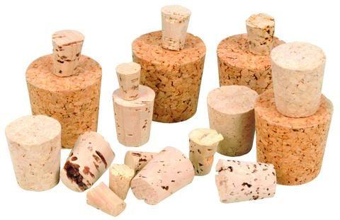Stoppers cork no.2 BTL 9x13x17mm