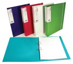 Binder Barkode A4 2D 25mm green