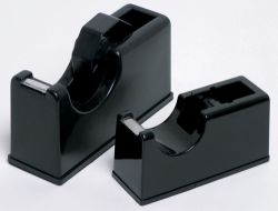 Tape dispenser small black for 33m tape