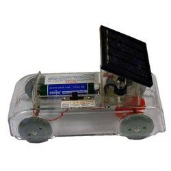 Solar cell dolly transparent