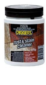 Rust stain cleaner