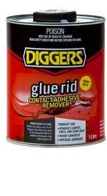 Glue rid