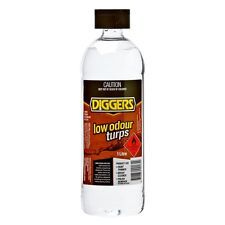 Mineral turpentine low odour Diggers 1lt