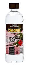 Turpentine pure gum Diggers 1lt