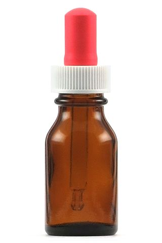Bottle 15ml amber with dropper pk/10