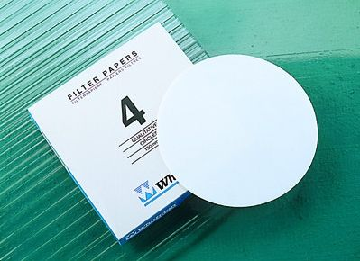 Whatman Filter Paper No.4 125mm 20-25um