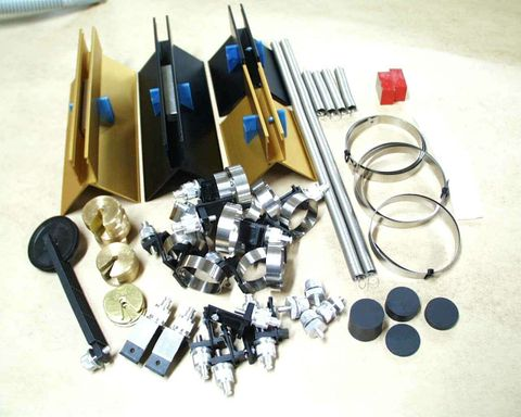 Operation kit for IEC air tracks