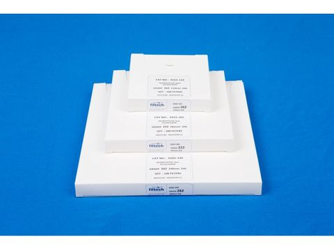 Filter paper ashless medium 125mm