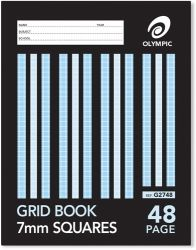 Grid paper Olympic 10mm 48 pages