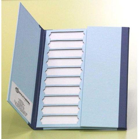 Cardboard slide folder flat 20 slides