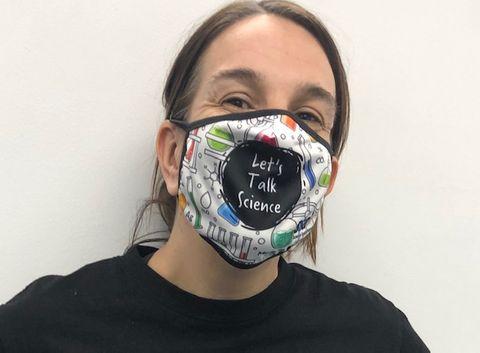Let's talk science mask