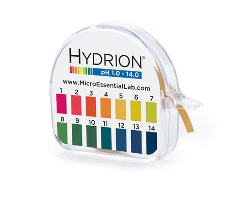 Indicator pH paper 1-14 roll dispenser
