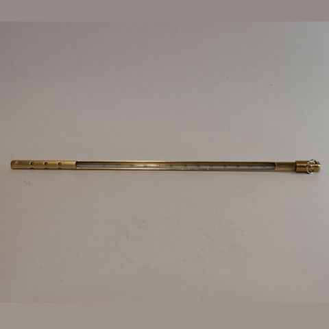Thermometer case brass 300mm