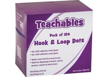 Hook & Loop velcro dots