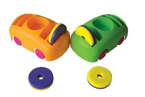 Bumper car and ring magnet set